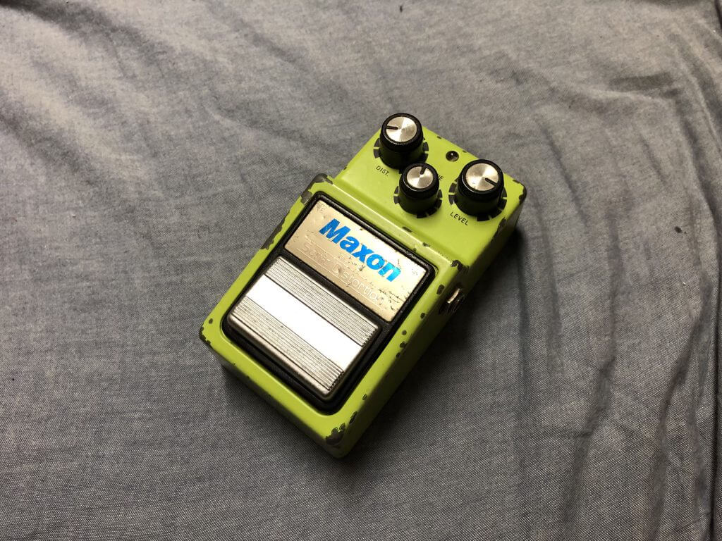 Maxon SD-9 Sonic Distortion 白ラベル